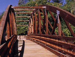 Preserved Wood Bridge