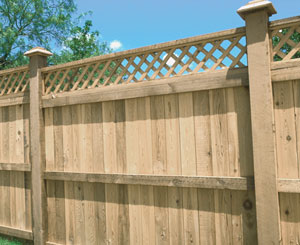 Using Preserved Wood in Fencing
